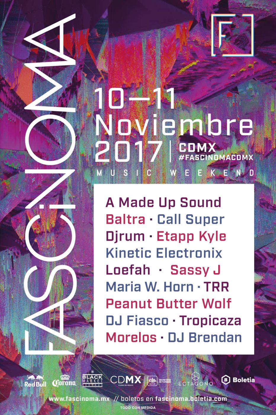 FASCINOMA : NOVEMBER 10-11, 2017 | CDMX